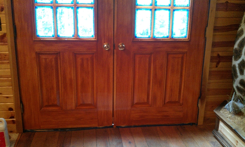 wood-grained-metal-doors